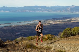 Photo of Jono from New Zealand Mountain Running Champs  c.2006.  Photo by Graeme Murray