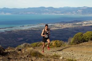 Photo of Jono from New Zealand Mountain Running Champs  c.2006.  Photo by Graeme Murray
