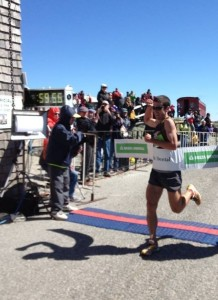 Eric Blake finishing in under one hour.